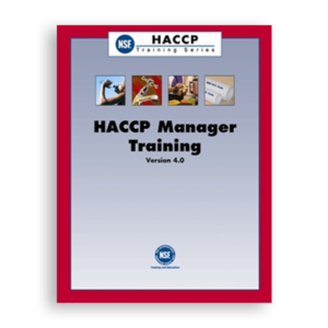 NSF HACCP Manager Training – English